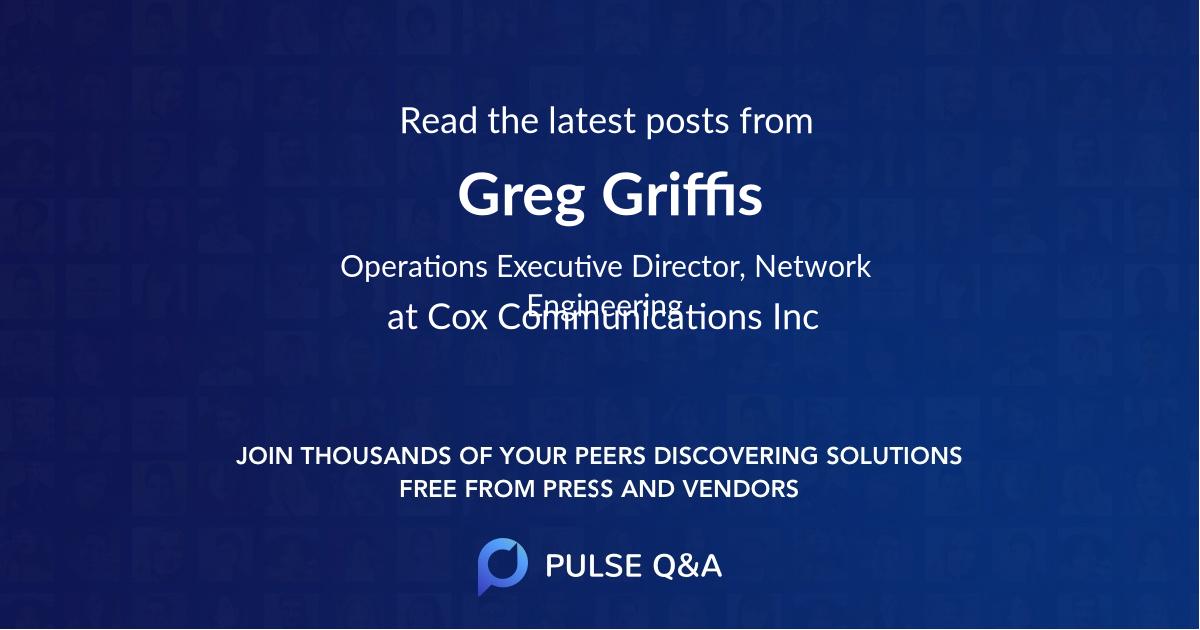 Greg Griffis