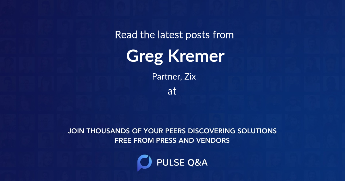 Greg Kremer