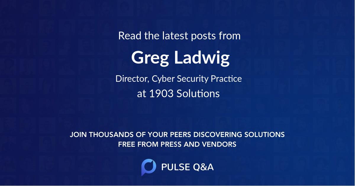 Greg Ladwig
