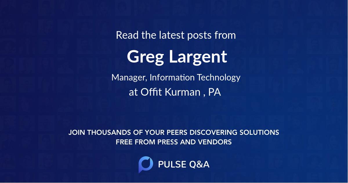 Greg Largent