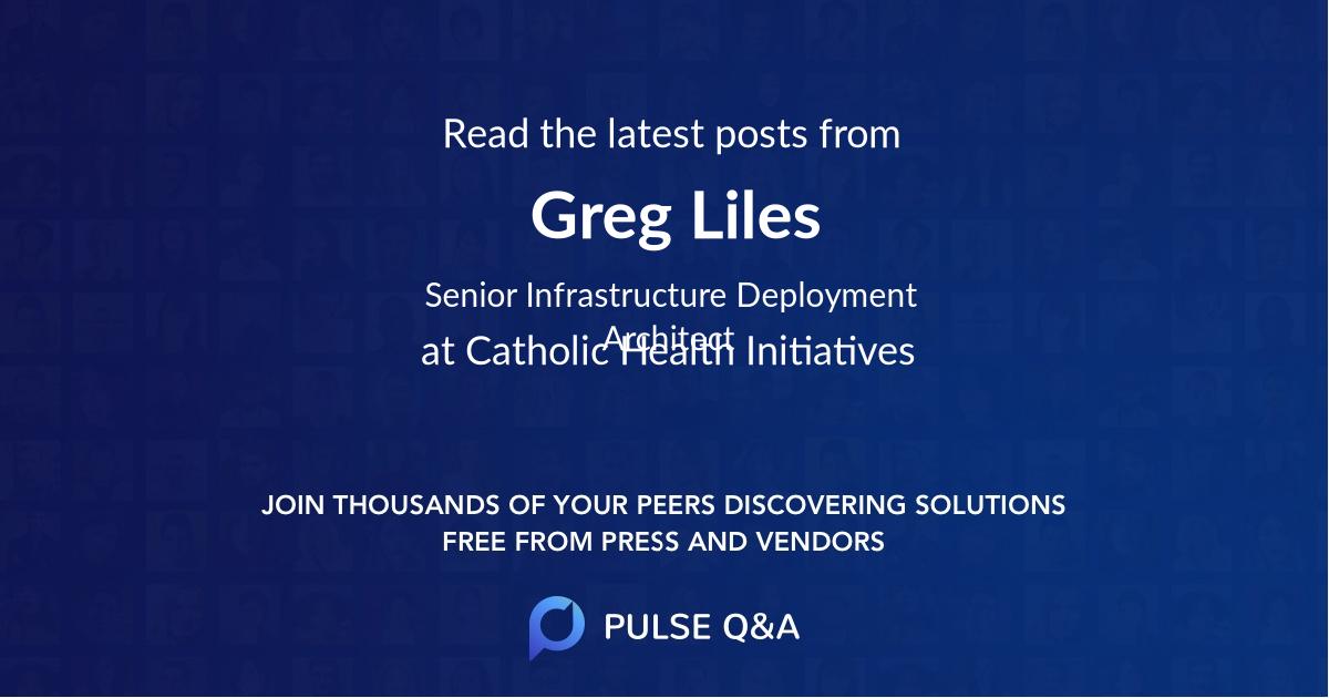 Greg Liles