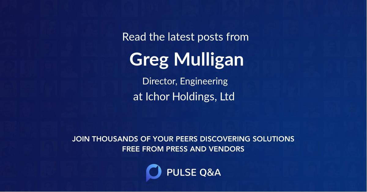 Greg Mulligan