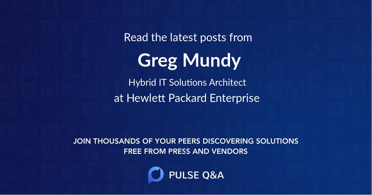 Greg Mundy