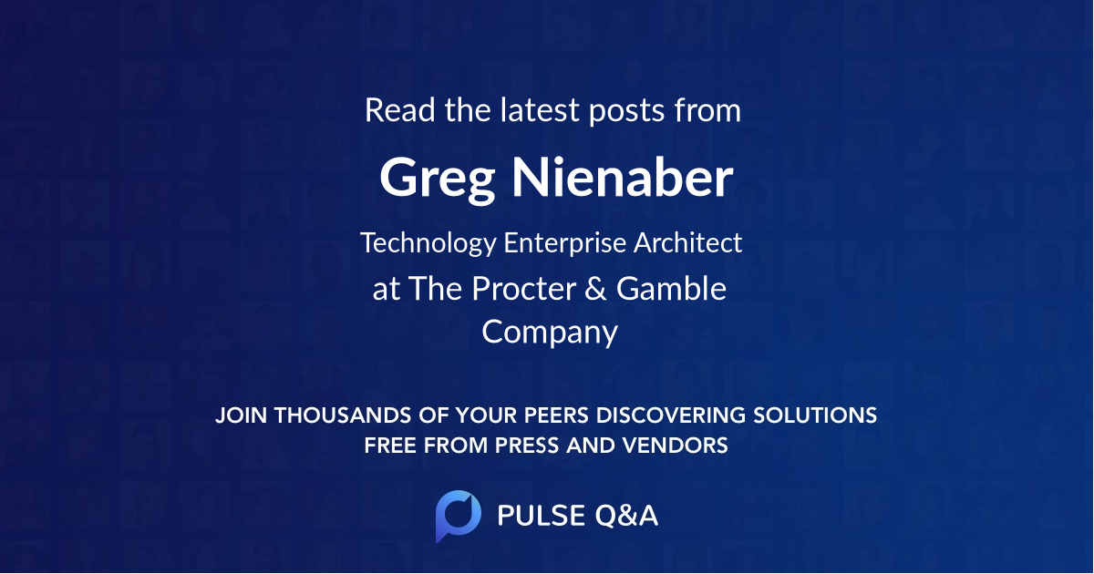 Greg Nienaber
