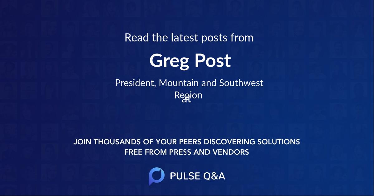 Greg Post