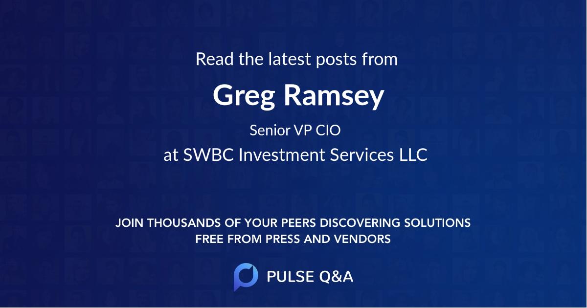 Greg Ramsey