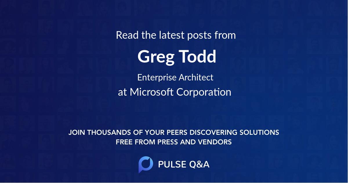Greg Todd