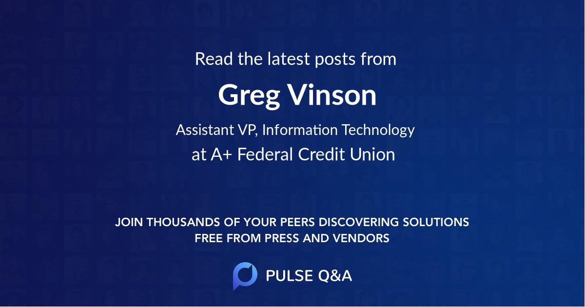 Greg Vinson