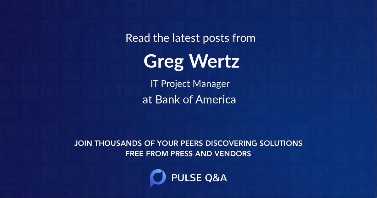 Greg Wertz