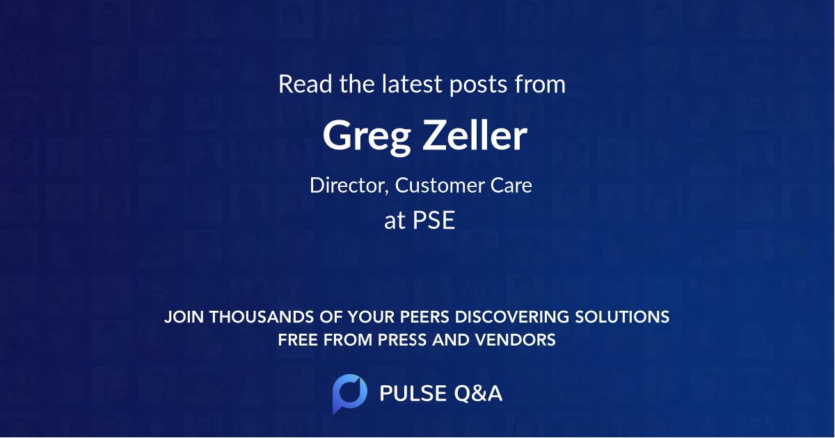 Greg Zeller