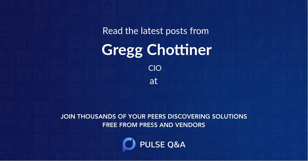 Gregg Chottiner