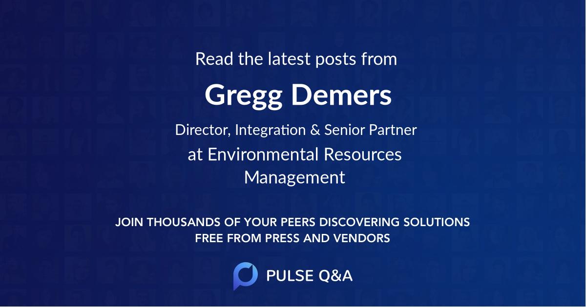 Gregg Demers