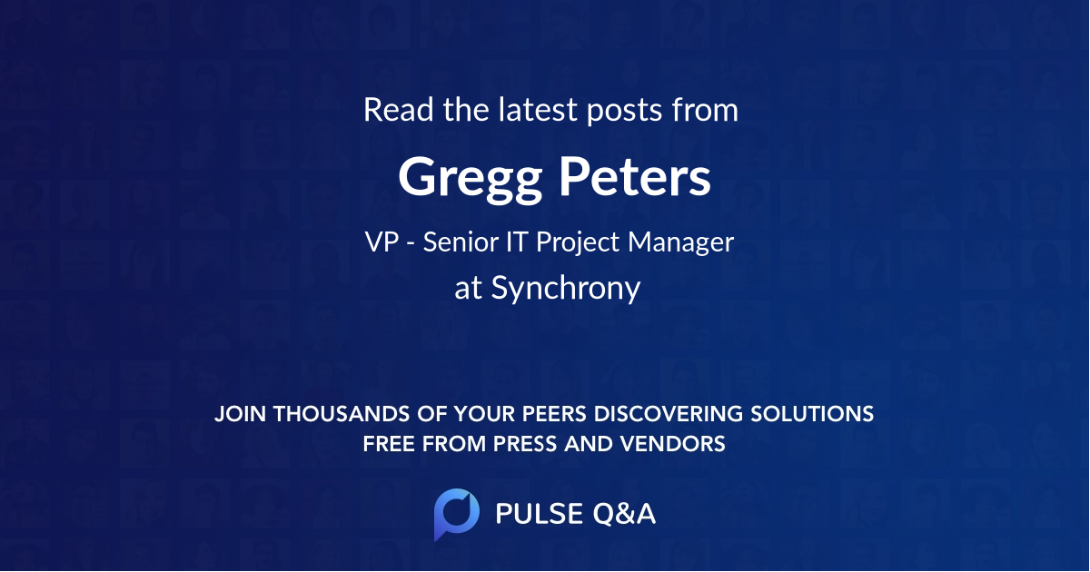 Gregg Peters