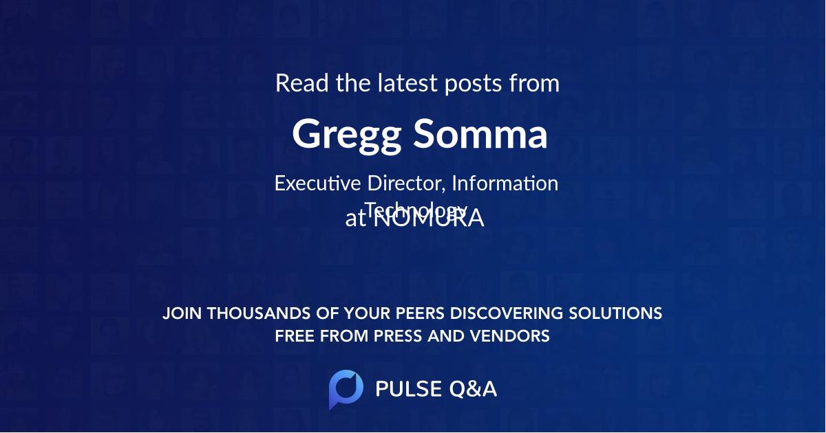 Gregg Somma