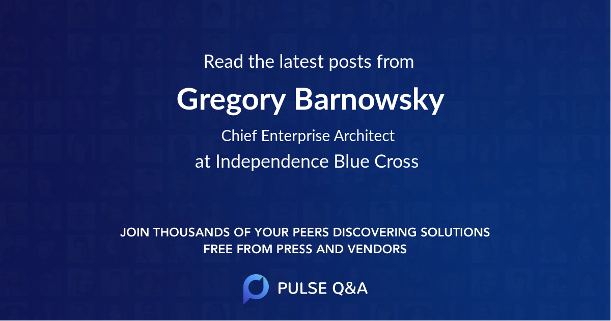 Gregory Barnowsky