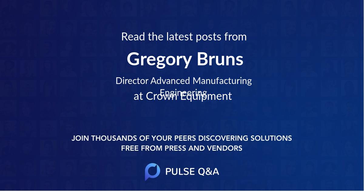 Gregory Bruns