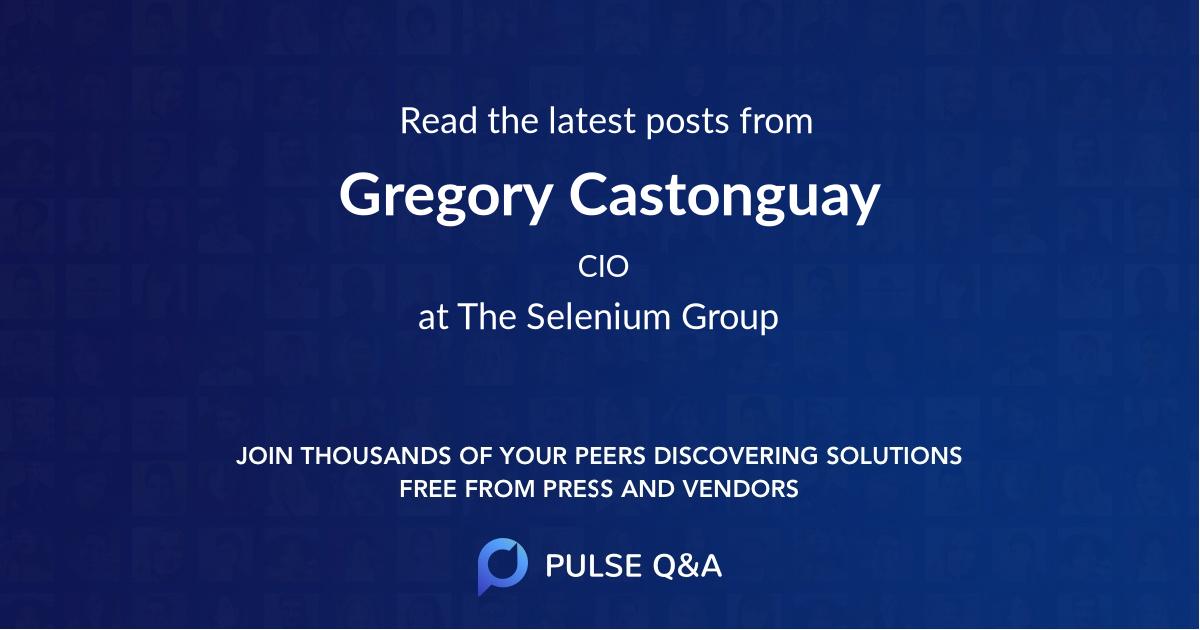 Gregory Castonguay
