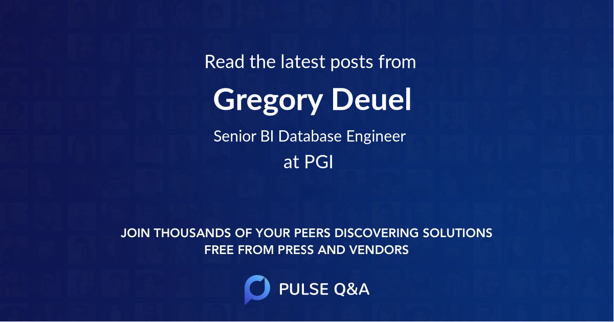 Gregory Deuel