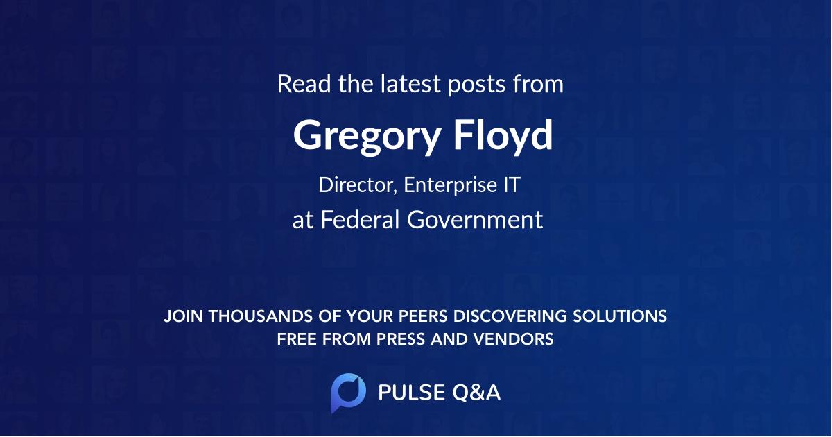 Gregory Floyd