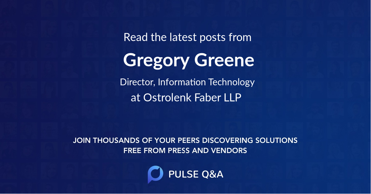 Gregory Greene