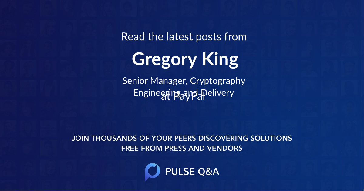 Gregory King