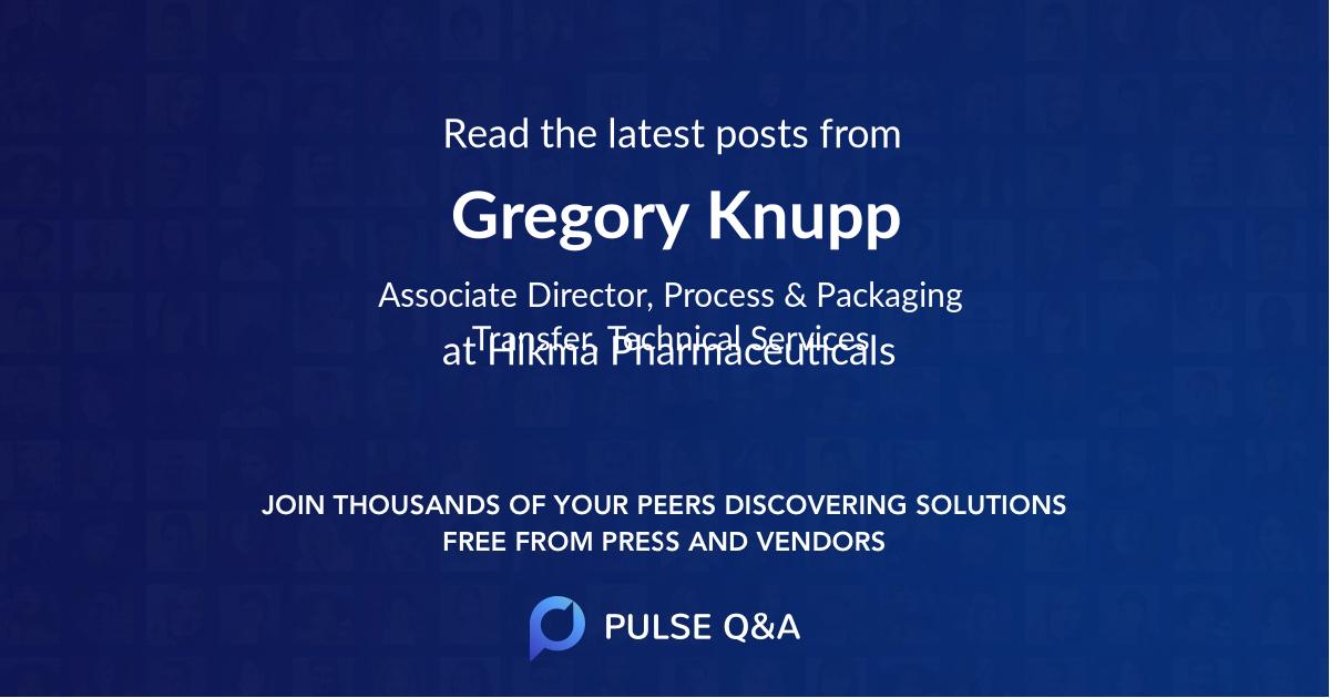 Gregory Knupp