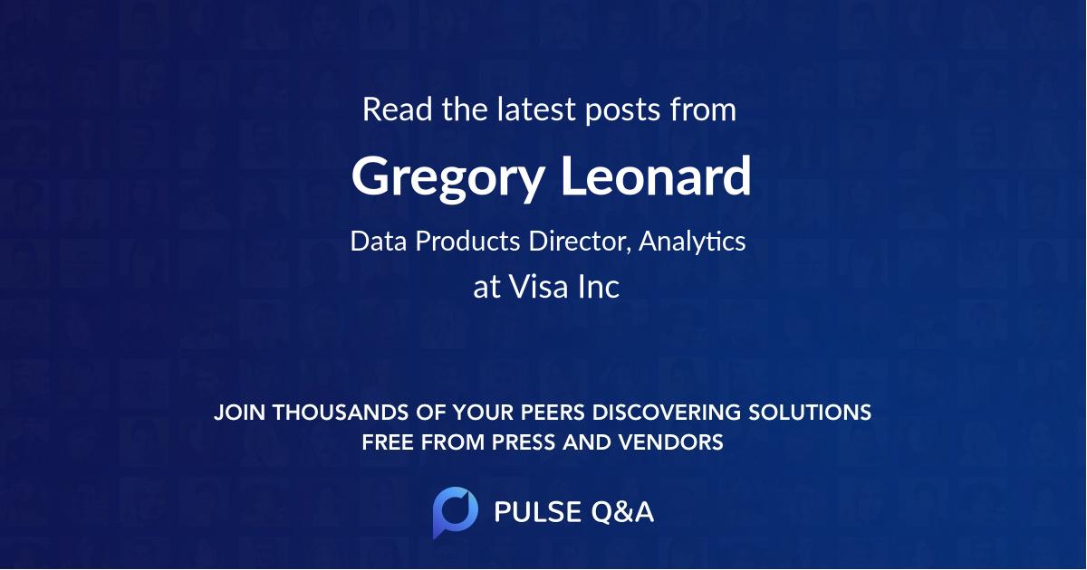 Gregory Leonard