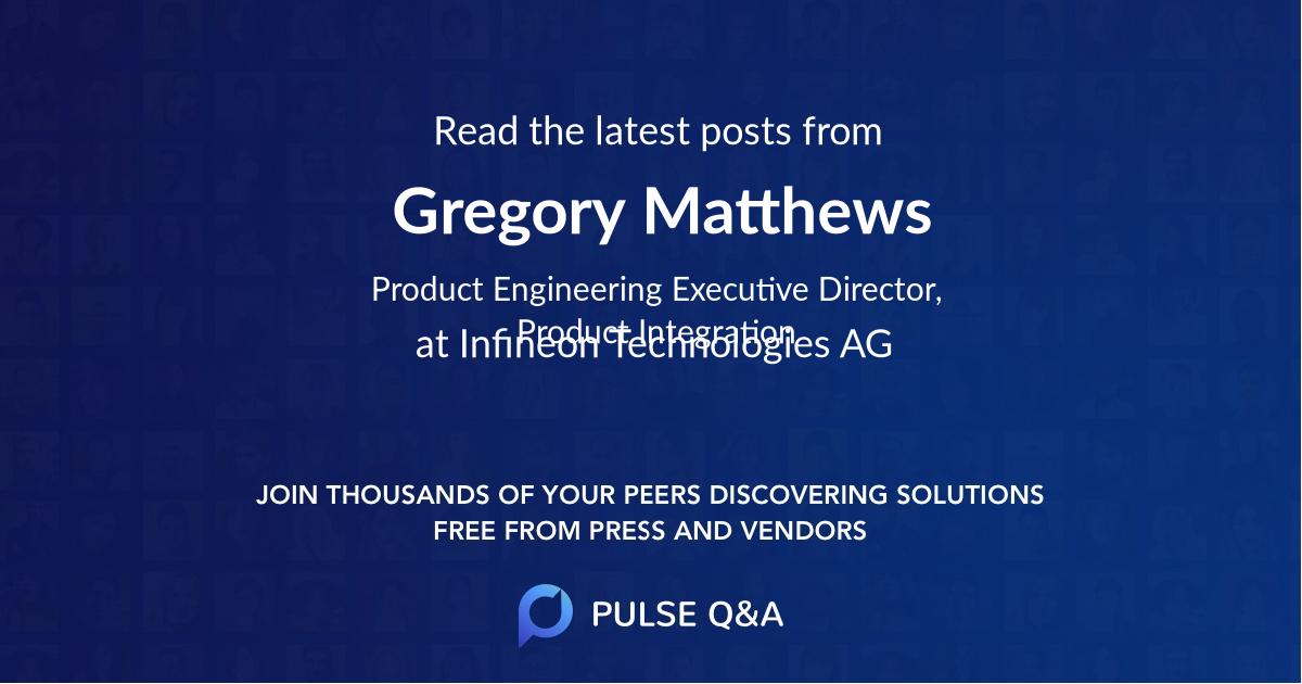 Gregory Matthews