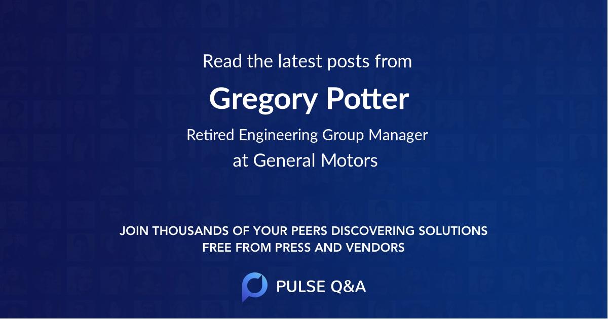 Gregory Potter