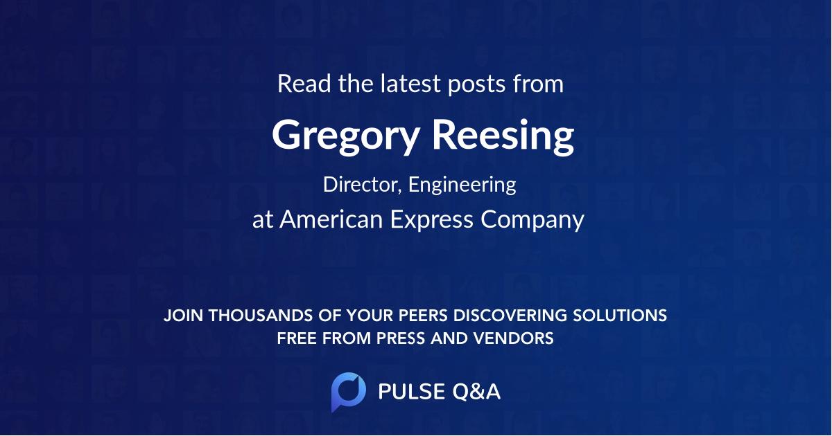 Gregory Reesing