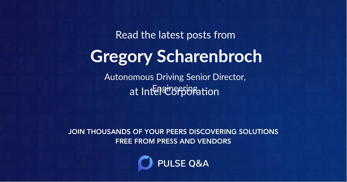 Gregory Scharenbroch
