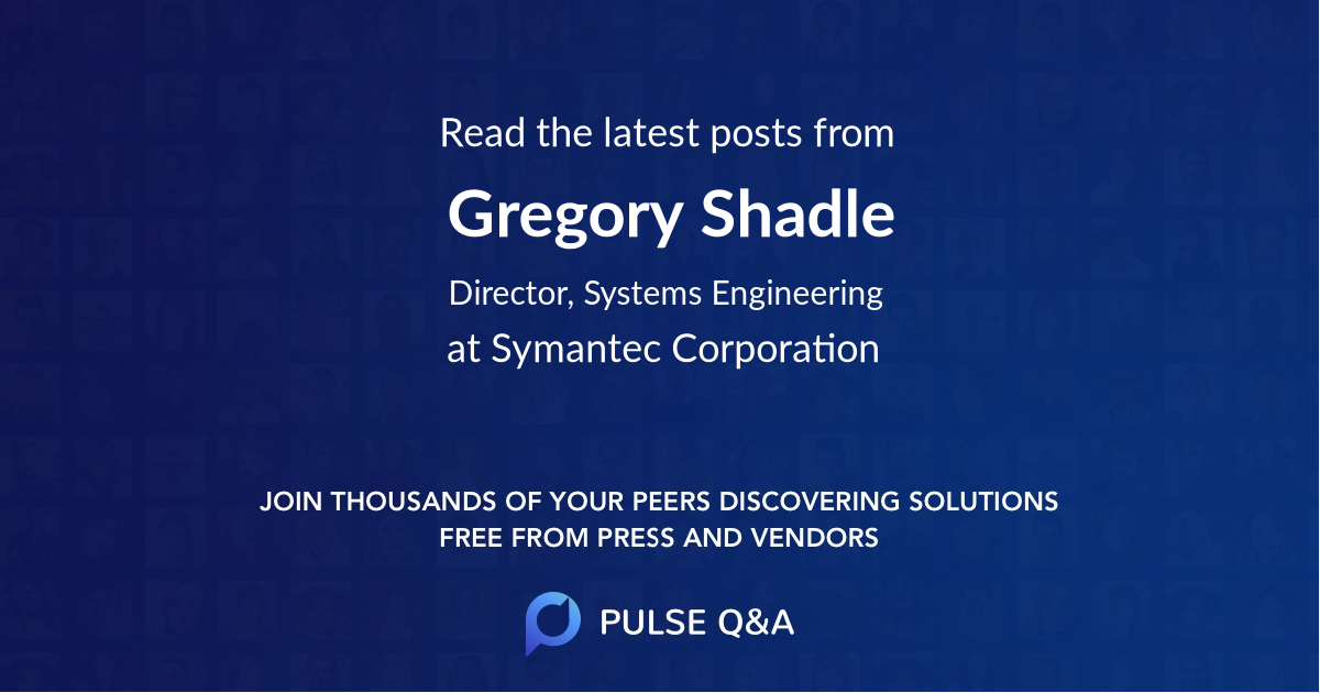 Gregory Shadle