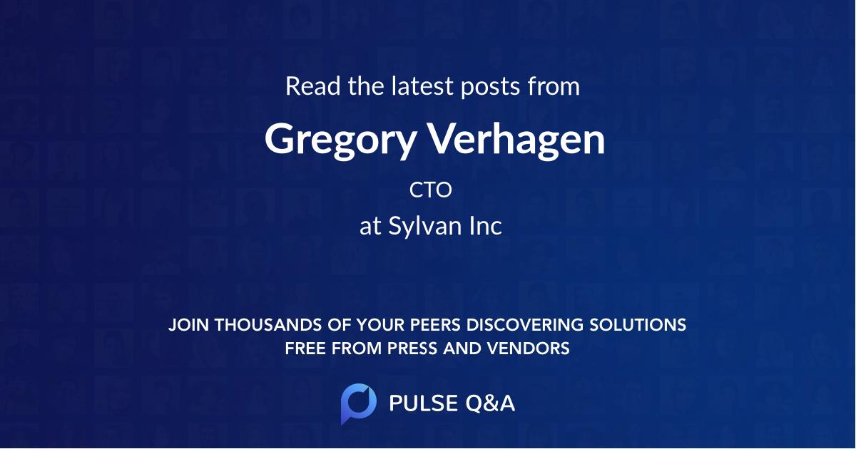 Gregory Verhagen
