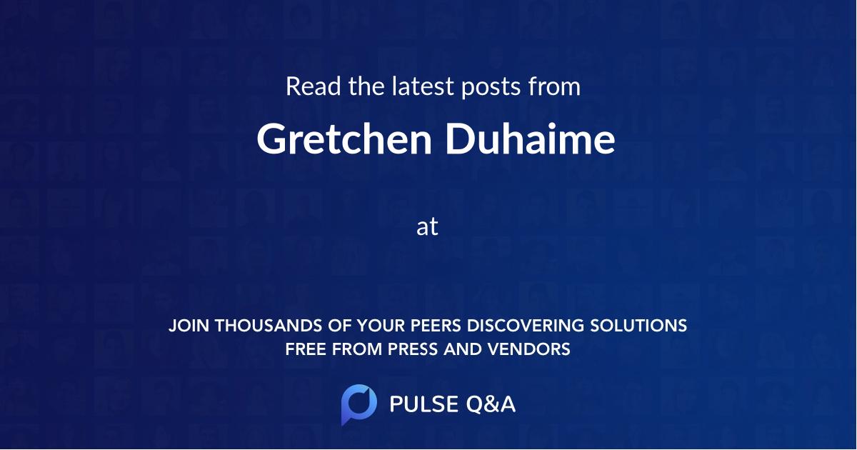 Gretchen Duhaime