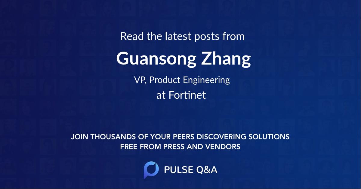 Guansong Zhang