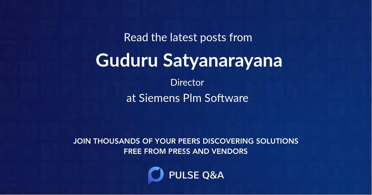Guduru Satyanarayana
