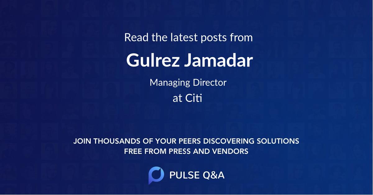 Gulrez Jamadar