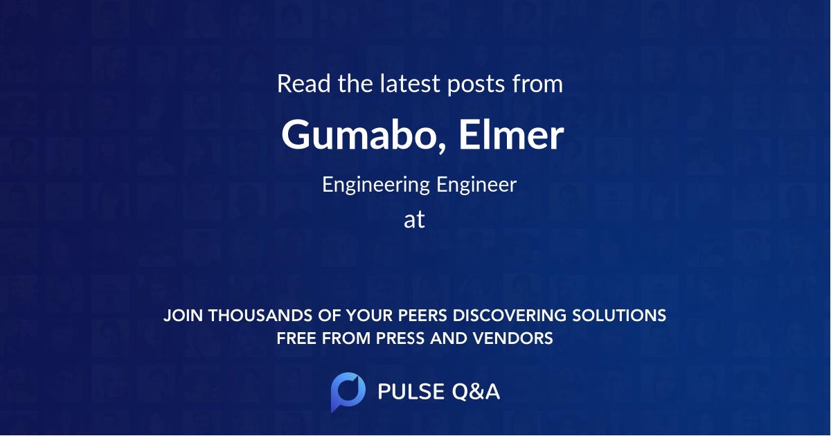 Gumabo, Elmer