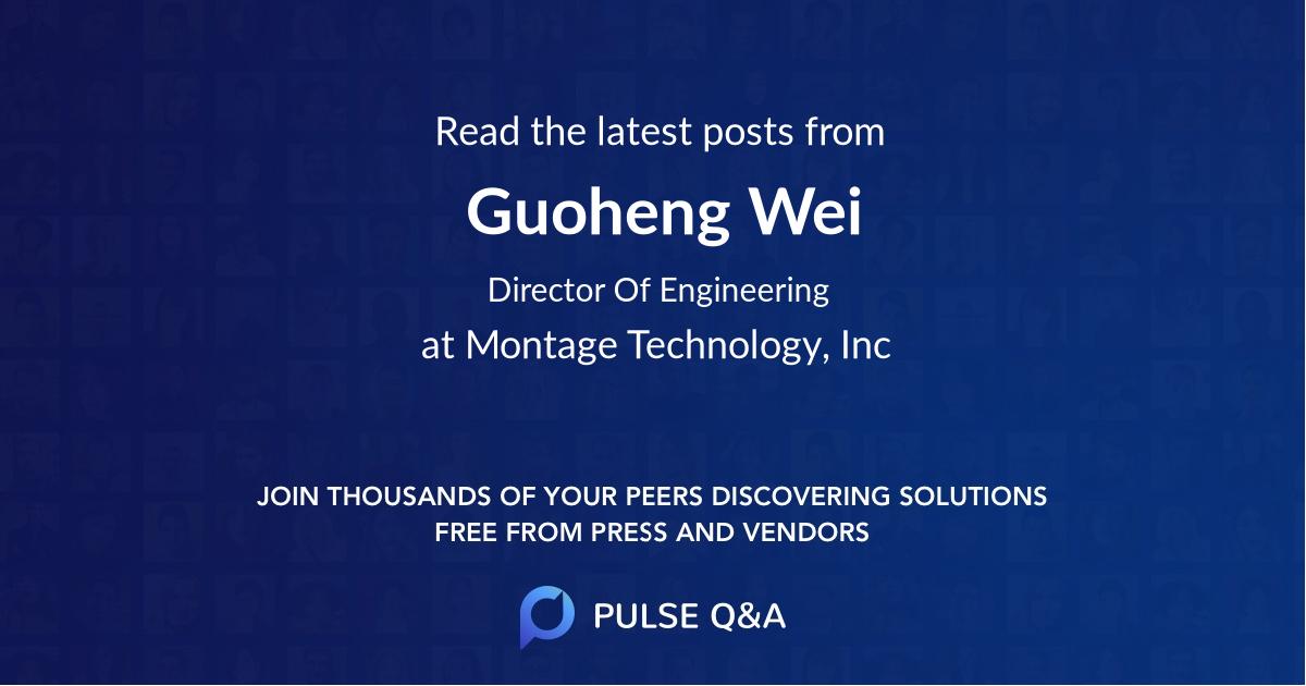 Guoheng Wei