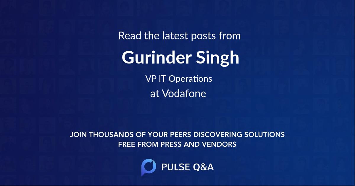Gurinder Singh