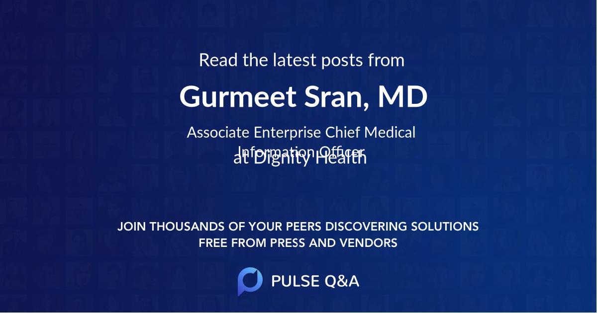 Gurmeet Sran, MD