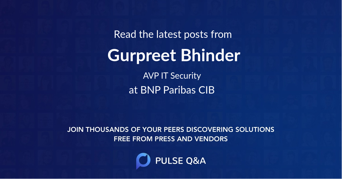Gurpreet Bhinder