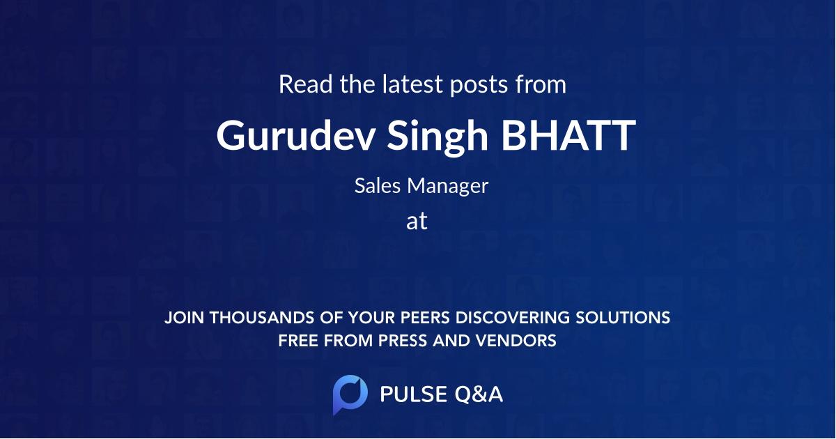 Gurudev Singh BHATT