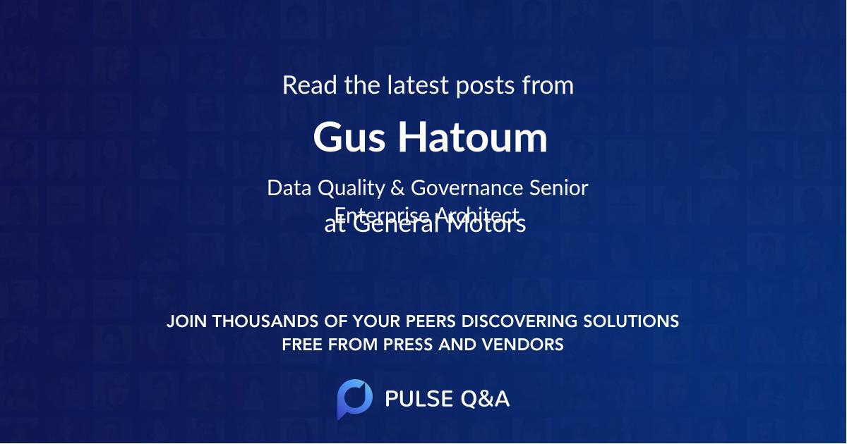 Gus Hatoum