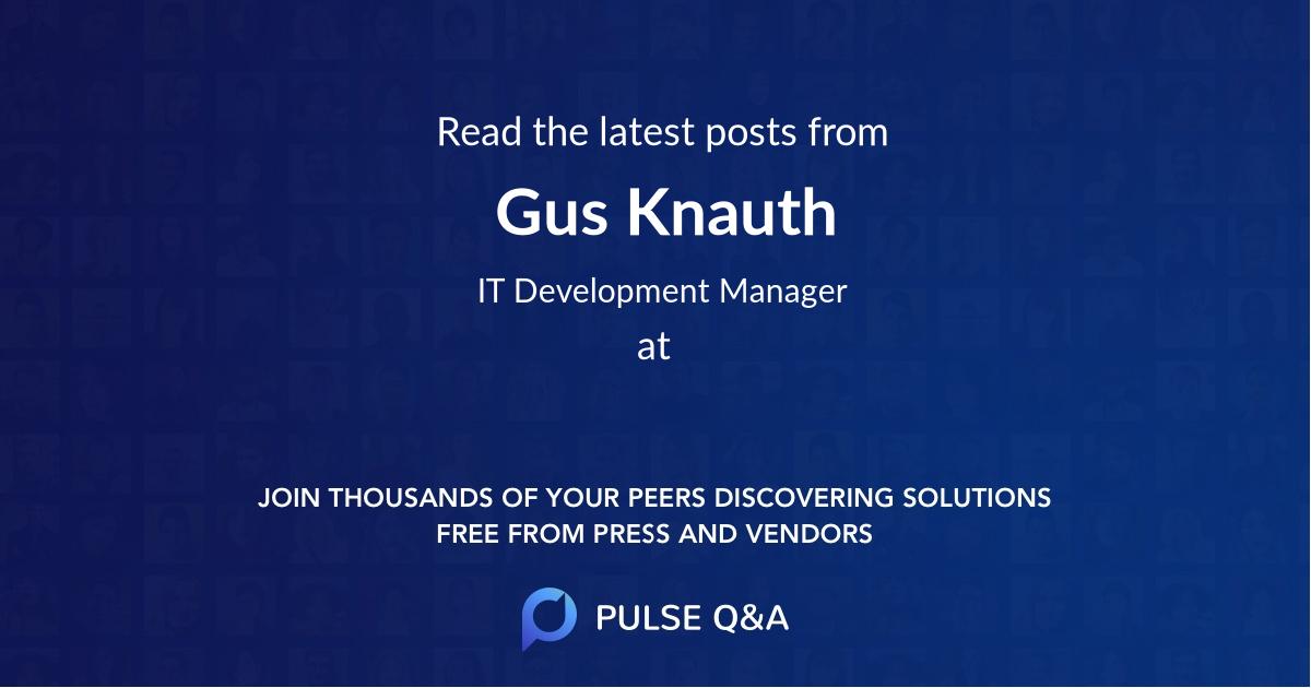 Gus Knauth