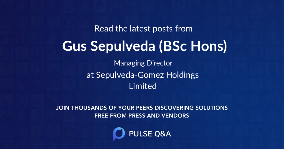 Gus Sepulveda (BSc Hons)