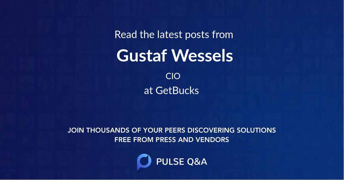 Gustaf Wessels