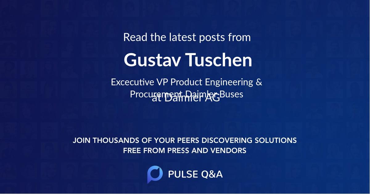 Gustav Tuschen