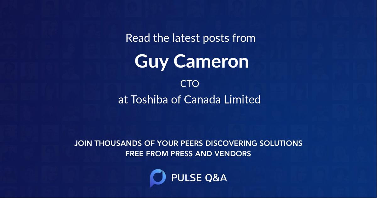 Guy Cameron
