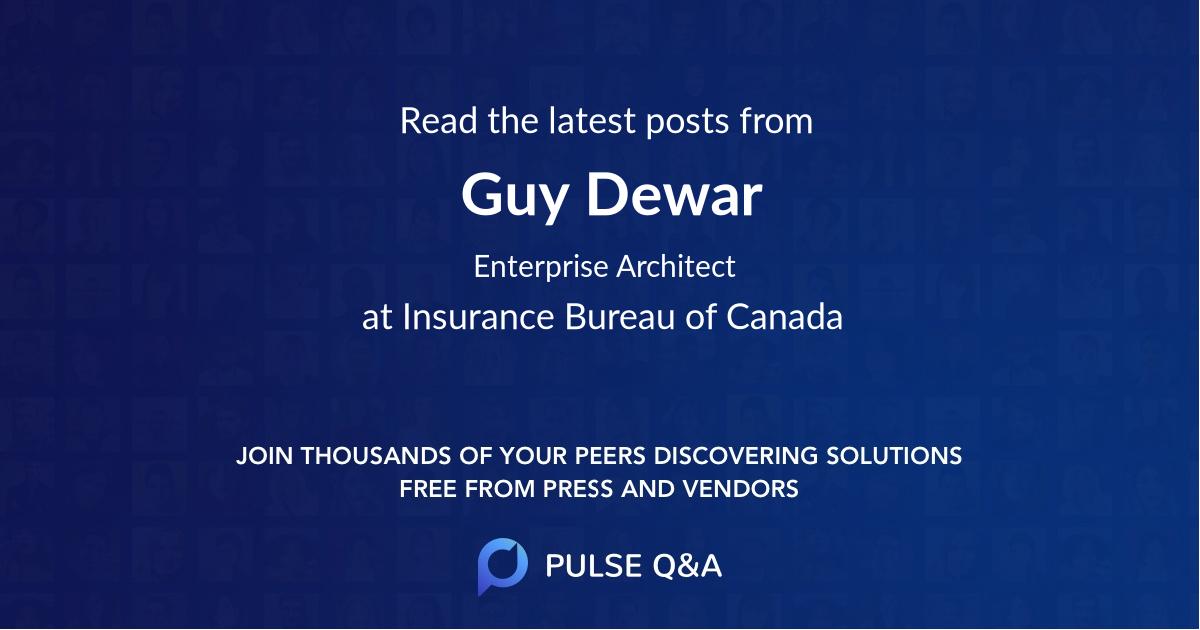 Guy Dewar
